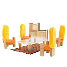 educo puppenhausmöbel esszimmer 7 teile