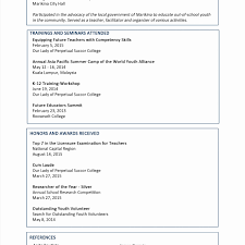 Resume Examples For College Graduates With Little Experience New