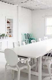 Studio Tour Designer Leslie Shewring In Victoria BC Mismatched Dining ChairsDining Room