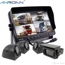 100 Backup Camera System For Trucks 2019 Anroan Car 9 Monitor Vehicle CCTV Waterproof Night Vision Rear