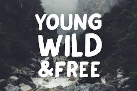 Introducing New Handmade Allcaps Fonts WildYouth Designed With A Brush And Rough Style You Can Use This Font For Various Purposes Such Us Poster T Shirt
