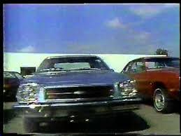 1980 O Connor Chevrolet Rochester mercial