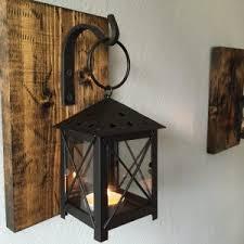 Home Decor Elegant Rustic Wall Sconce Idea Lantern Sconces Fcapartments