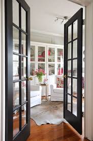 Replace Solid Door In Dining Room With French Glass For More Light The Hallway