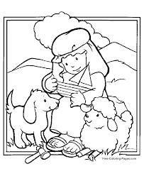 Bible Coloring Book Sheets