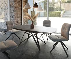 esszimmertisch carlow grau keramik 130 200x90x76 cm ausziehbar moderne einrichtungsideen günstig bei möbel modern