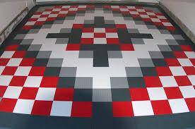 garage flooring tile overhead door of kansas city