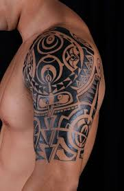 Tribal Shoulder Tattoos For Guys Tattooideaslive