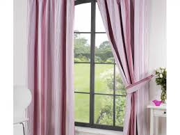 Pink Ruffled Window Curtains by Kids Room Accessories Enchanting Light Green Pink