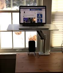 Ergotron Sit Stand Desk by Review Workfit P By Ergotron U2013 An Easy Transition To A Sit Or