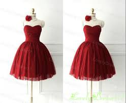 Vintage Red Gowns Fashion Dresses