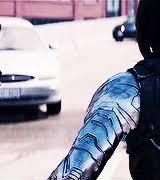 Myedit Bucky Barnes Sebastian Stan Winter Soldier Captain America 2 Dat Arm Marveledit