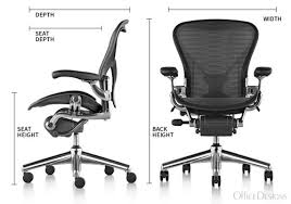 Aeron Chair Used Nyc by Classic Aeron Chair True Black Size A Open Box
