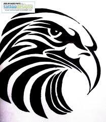 Tribal Eagle Tattoo Design