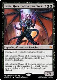 Mtg Lifelink Deathtouch Deck by Lunia Queen Of The Vampires By Boomer1104 Mtg Cardsmith