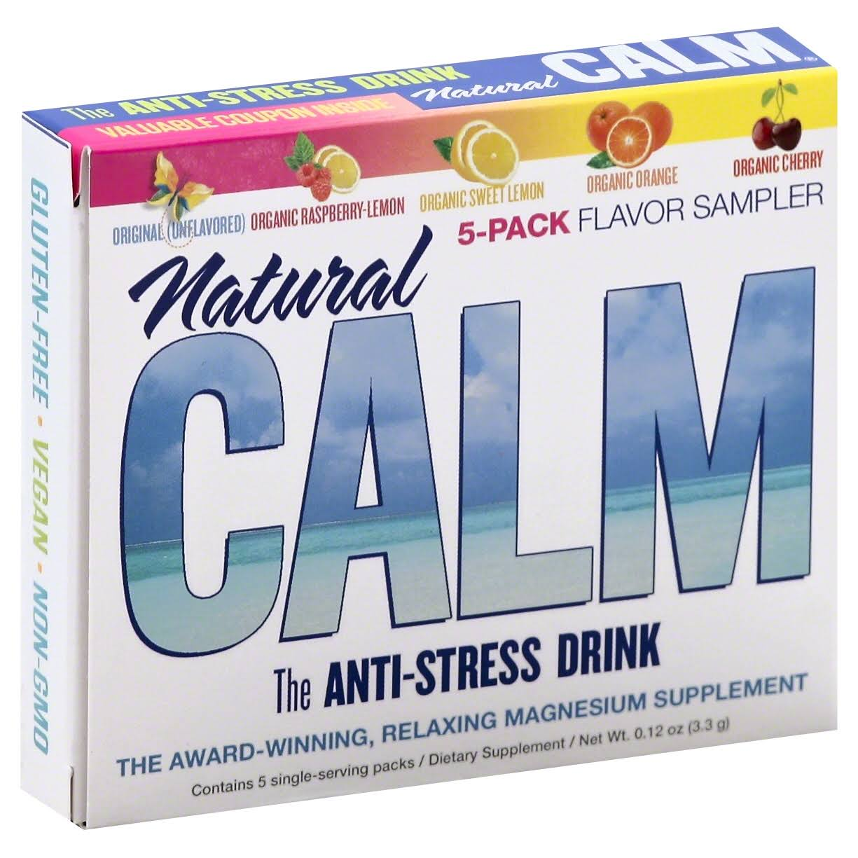 Natural Vitality Natural Calm Anti-stress Drink - 5 Pack
