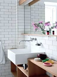 bathroom tiles brick effect linear white bathroom wall tile linear
