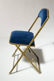 100 Blue Plastic Folding Chairs CH345 Velvet Chair Prop Rental ACME Brooklyn