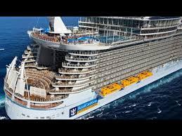Cruise Ship Sinking 2015 by Amazing World Largest Cruise Ship Allure Of The Seas Amazing