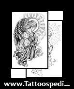 Catholic Angel Tattoos