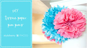 How To Make Hanging Flower Balls Out Of Tissue Paper Diy Ball