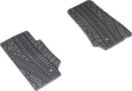 Jeep Commander Floor Mats Canada by Mopar 82210166ac Floor Slush Mats With Tire Tread Pattern For 07
