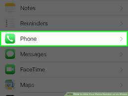 How to Hide Your Phone Number on an iPhone 4 Steps