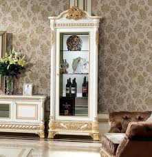 vitrine schrank vitrinen wohnzimmer schau schränke design barock rokoko e62 neu