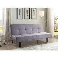 Walmart Sectional Sleeper Sofa by True Innovations 3 Position Fabric Futon Gray Walmart Com