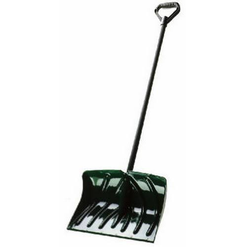 Suncast SC1350 Snow Shovel Pusher Combo with Wear Strip - Green,18""