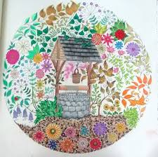 Now Ill Move Onto The Secret Garden Colouring Book By Johanna Basford Out Of All Books I Have This Is Probably One Use Most