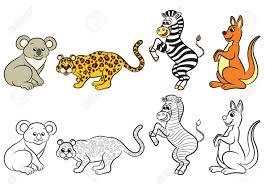 Vector Animales Zoologico Para Colorear Wwwimagenesmycom
