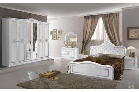 italienisches barock schlafzimmer livia in weiß 6 teilig 180 x 200 cm 6 türig tu lio 04 1012