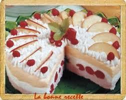 dessert aux fruits d ete gâteau glacé aux fruits d été gateaux