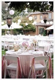 Pink And Gold Wedding Reception