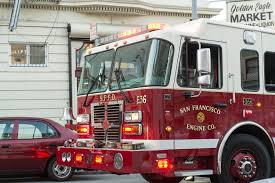 100 Truck San Francisco Fire Truck Critically Injures SF Cyclist SFBay