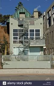 100 Beach House Gold Coast Santa Monica CA Beach Bay City Gold Coast House North Of