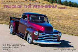 1949 Chevy 3100 Pickup: The Art Of Superb Craftsmanship - Goodguys ... Feature 1954 Chevrolet 3100 Pickup Truck Classic Rollections 1950 Car Studio 55 Phils Chevys Pin By Harold Bachmeier On Rat Rods Pinterest 54 Chevy Truck The 471955 Driven Hot Wheels Oh Man The Eldred_hotrods Crew Killed It With This 1959 For Sale 2033552 Hemmings Motor News Quick 5559 Task Force Id Guide 11 1952 Sale Classiccarscom Advance Design Wikipedia File1956 Pickupjpg Wikimedia Commons 5clt01o1950chevy3100piuptruckloweringkit Rod