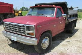 100 F350 Ford Trucks For Sale 1983 Dump Bed Truck Item H3295 SOLD July 30 C
