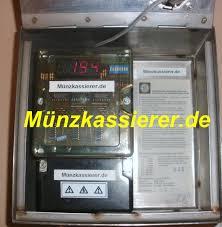 edelstahl münzkassierer münzautomat ip65 bezahlautomaten
