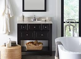 choosing a bathroom vanity sizes height depth designs