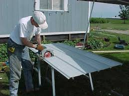 Metal Deck Skirting Ideas by A Better Skirting Idea Mobile Home Repair Camp Pinterest