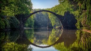 100 Water Bridge Germany Greenery Of Rakotzbrcke Devils Album On Imgur