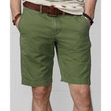 denim u0026 supply ralph lauren slimfit chino shorts in green for men
