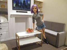 Barbie Living Room Furniture Diy by How To Make A Barbie Doll Coffee Table Diy Barbie Doll Furniture
