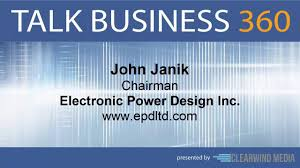 Electronic Power Design Inc EPD TALK BUSINESS 360 TV