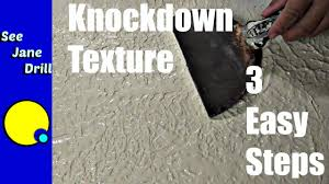 Zinsser Popcorn Ceiling Patch Video by How To Do A Knockdown Texture In 3 Easy Steps Youtube