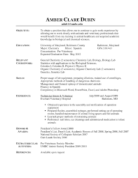 Veterinary Resume Best Of Examples Receptionist Rh Madiesolution Com Cover Letter