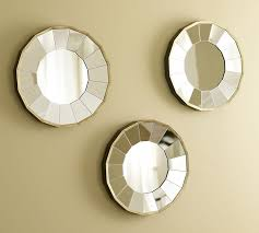 Excellent Ideas Set Of Mirrors For Wall In Conjunction With 3 Piece Mirror Houzz IMAX Worldwide Home Jezant Tray Decor Round Walls Circle