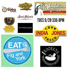 100 India Jones Food Truck Tues LA Eat At Fig And York Looking For Food Trucks